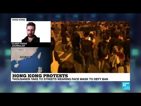 Hong Kong protests: 'There is quite a lot of anger'