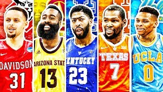 BEST NBA PLAYER FROM EACH UNIVERSITY IN 2019