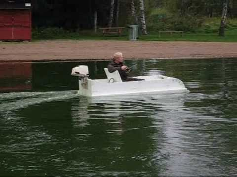 Styrofoam Boat Airboat Full Scale R C 2 Youtube
