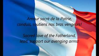 "French National Anthem ""La Marseillaise"" 