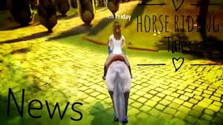 Horse riding tales news
