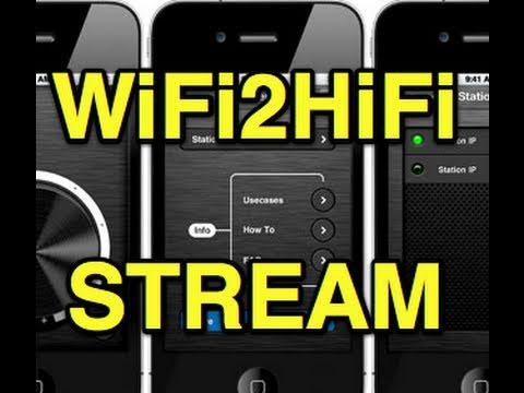 WiFi2HiFi:  Bring Your Entire iTunes Library Into Your Living Room