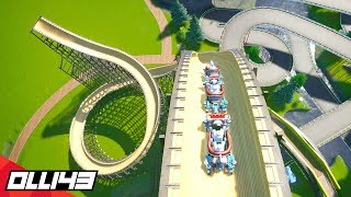 MAJOR DANGER! Building a bobsled coaster in Planet Coaster!! (awesome)