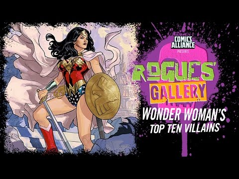10 Best Wonder Woman Villains - Rogues