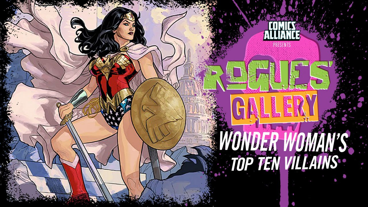 10 best wonder woman villains rogues gallery youtube