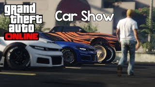 Grand Theft Auto 5 - Car Show (Muscle Cars/Lowriders) | Rockstar Editor