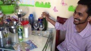 ഹോ! പച്ചവെള്ളം പോലെയല്ലെ പഹയൻ കുടിച്ചത് Absinthe liquor (89.9% Alc.)