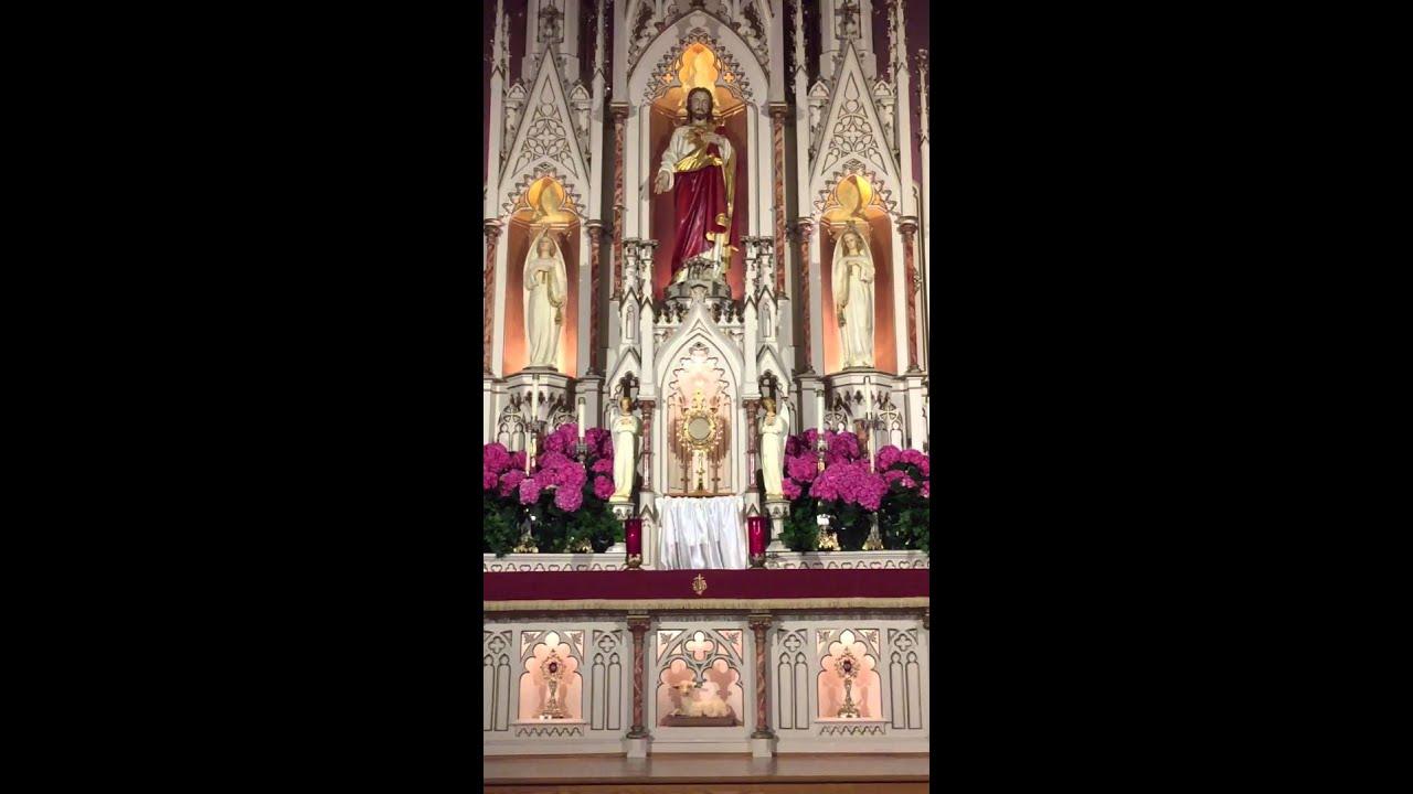 Holy Eucharist adoration for tonight Thursday
