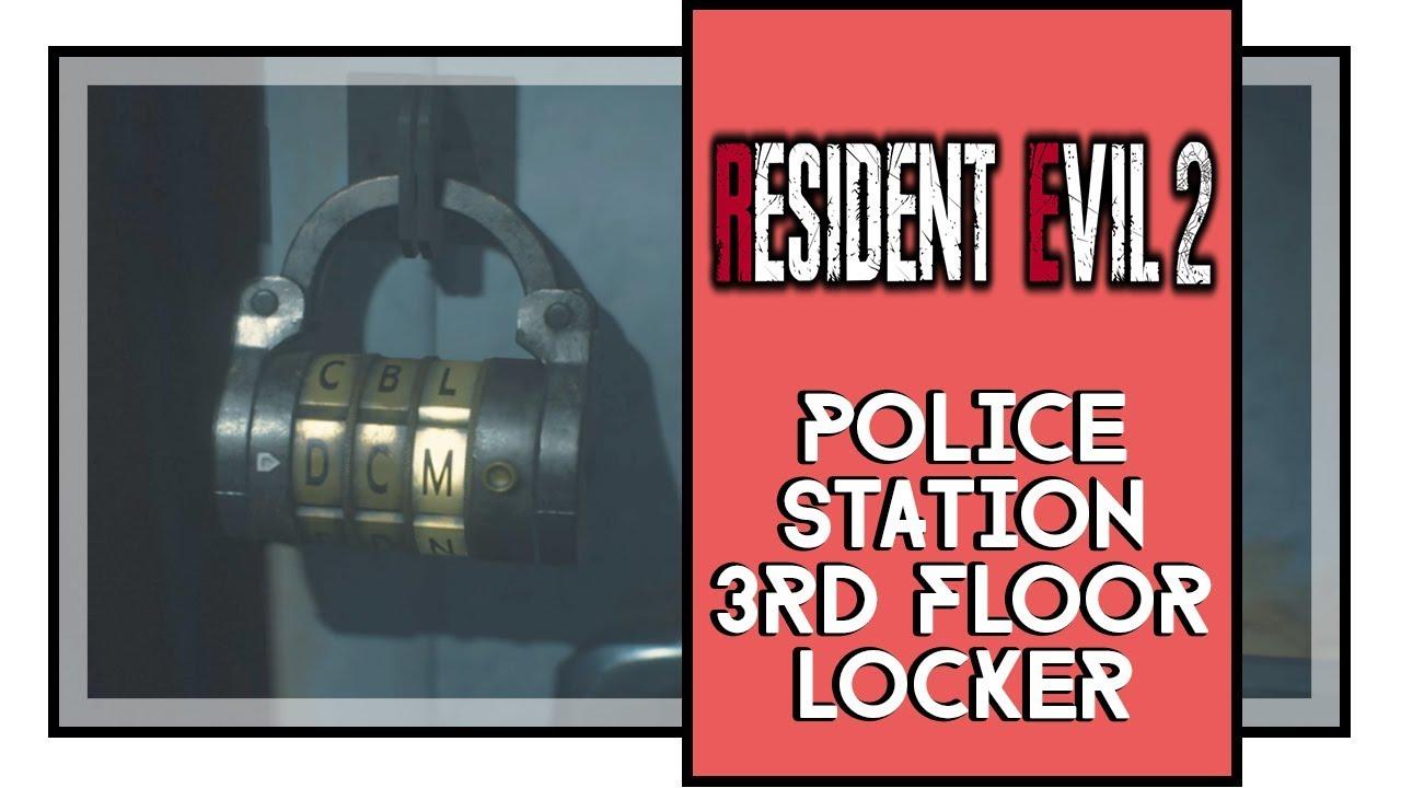 Resident Evil 2 Locker Code