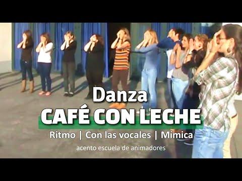 danza-cafÉ-con-leche,-cafÉ-|-canción-de-campamento-|-dinámica-de-grupo-|-animación