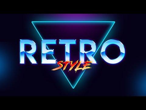 Photoshop Tutorials - 80s Retro Text Effect