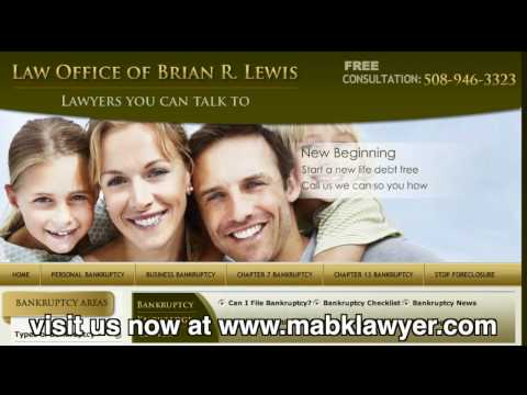 No one wants to file personal bankruptcy. No one ever even expects to be in the situation to where they have to. However, in today's economy, many people have been placed into a financial hardship to where bankruptcy is the only option for a fresh start. The Law Office of Brian R. Lewis will work with you through this process and stand by you every step of the way. They are here to help you understand the benefits of bankruptcy and the opportunity for a fresh start.
