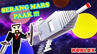 Reckless! MR. PRESIDENT WENT TO COLONIZE MARS IN ROBLOX!!!