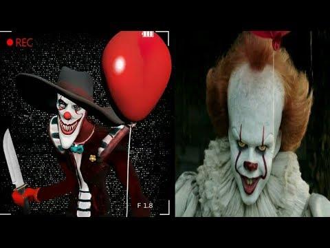 пять ночей с клоуном оно