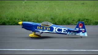 Ice Beer HB-MSR Mudry CAP-231 full scale model Schweizer Meisterschaften 2014 Interlaken