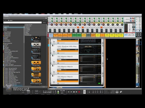 Reason 10 Propellerhead - Mixing & Mastering with UAD and IK Multimedia Part 1