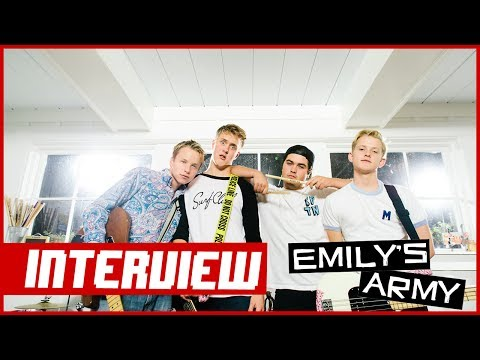 Emily's Army (2014) Interview: How to Pick Up A Girl [Vans Warped Tour]