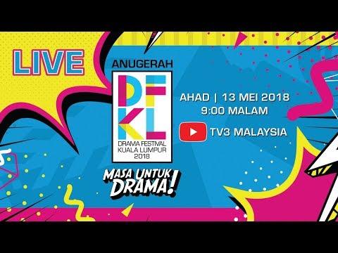 [[ LIVE ]] : SIARAN LANGSUNG Anugerah #DFKL2018