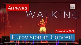 Armenia Eurovision 2019 Live: Srbuk - Walking Out - Eurovision in Concert - Eurovision Song Contest