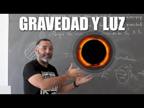 ¿Actúa la gravedad sobre la luz?