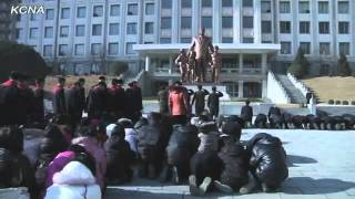 North Koreans Weeping Techno Remix