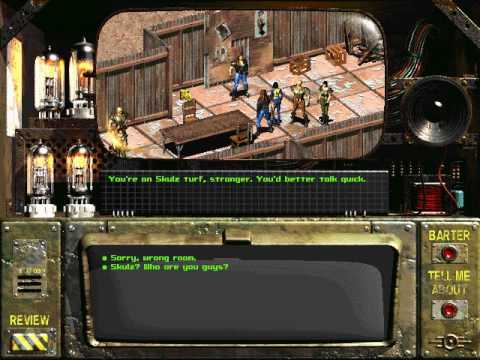 Let's Play Fallout [Blind] 029 Gizmo |