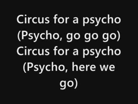 Skillet - Circus for a Psycho (lyrics)