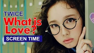 "Download Lagu TWICE "" What is Love? "" Screen Time Distribution 各成員MV畫面時間統計 트와이스 Mp3"