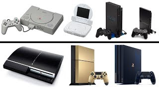 All PlayStation Console Generations Unboxing (1994-2019) PS1...