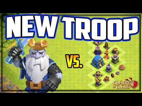 NEW TROOP! Clash Of Clans UPDATE - Royal Ghost Vs. EVERYTHING!