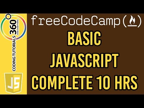 Basic JavaScript Course Free Code Camp