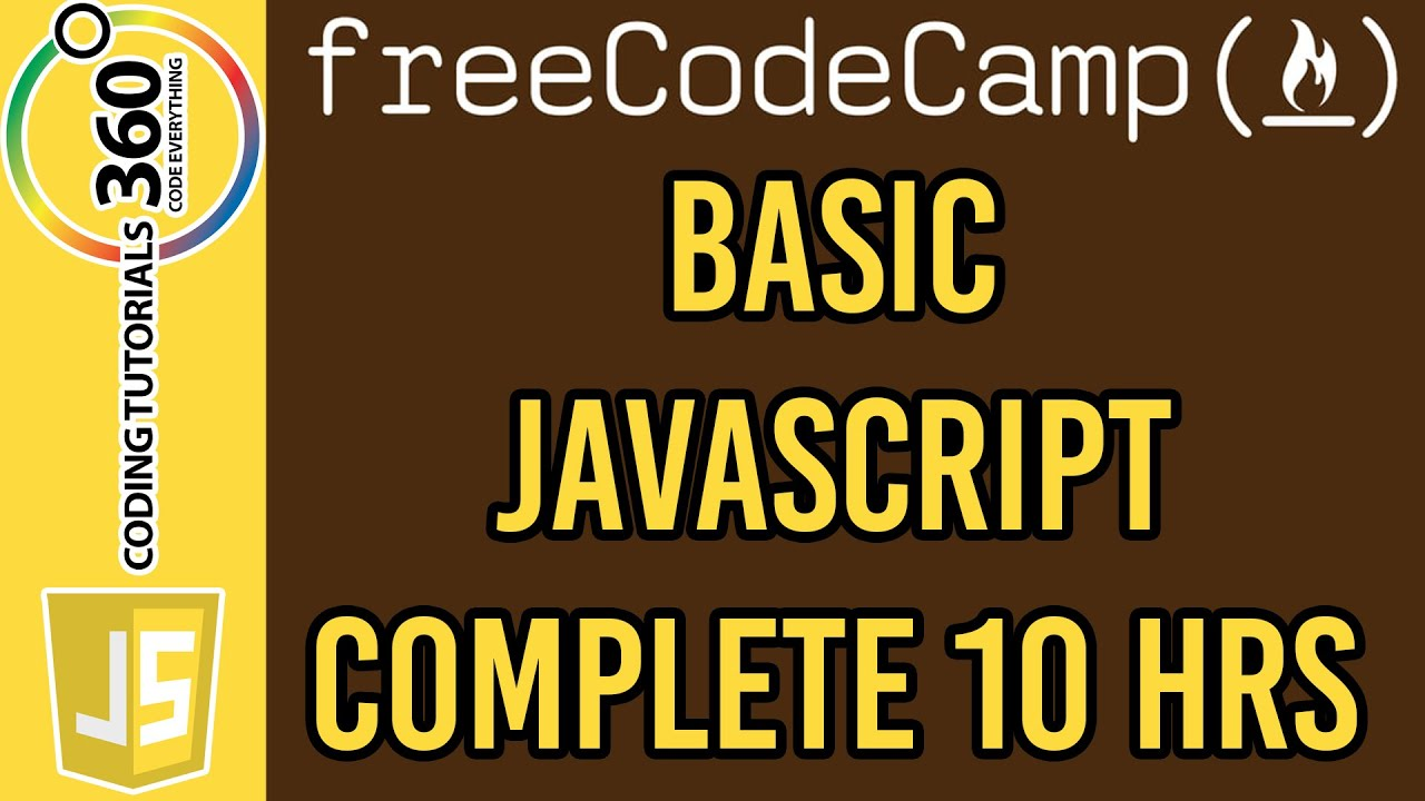 Basic javascript course free code camp youtube basic javascript course free code camp baditri Image collections