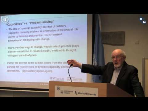 Wharton Prof. Sidney Winter on Dynamic Capability and Evolutionary Economics