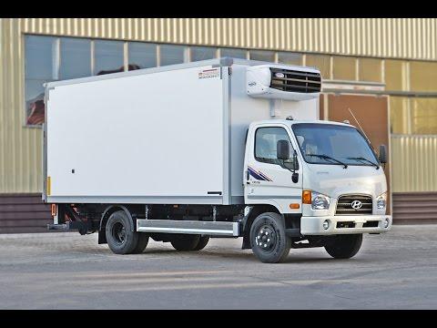 видео: hyundai hd 78 фургон- рефрижератор с гидробортом zepro