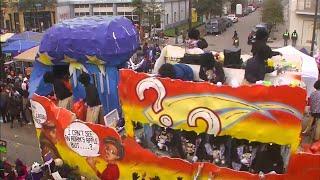 Mardi Gras celebrations continue on Fat Tuesday