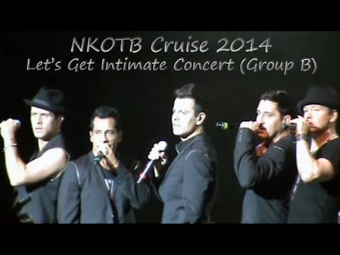 NKOTB Cruise 2014 - Let's Get Intimate Concert (Group B)