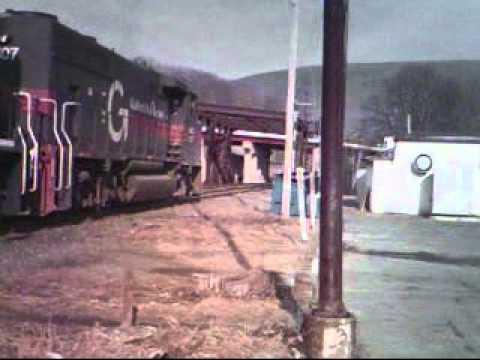 panam railways from north adams ma to pownal vt feb 2012.wmv