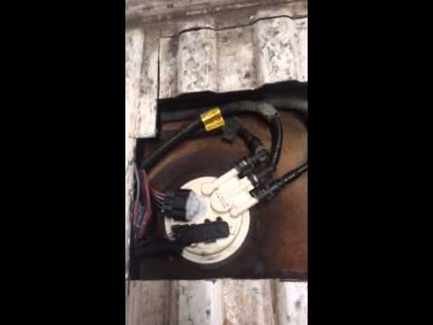 2001 Chevy S10 fuel pump replacement - YouTube