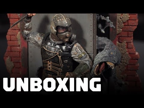 Metro Exodus - Spartan Collectors Edition Unboxing