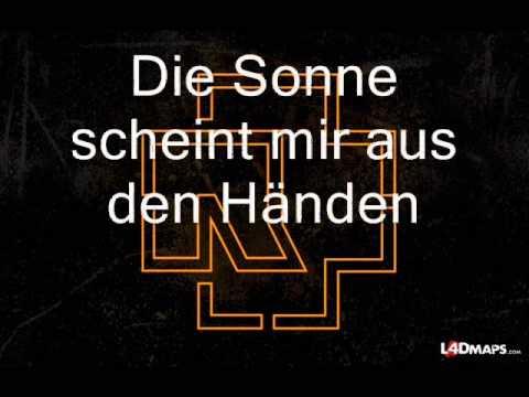 Rammstein -Sonne- Lyrics