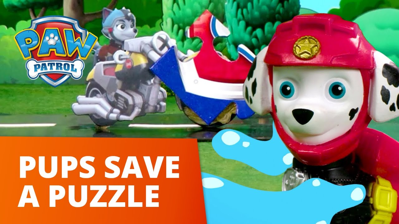 Download PAW Patrol Moto Pups Save a Puzzle! - Toy Episode - PAW Patrol Official & Friends