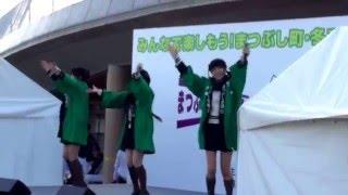 髙橋彩音、岡部麟、吉川七瀬.