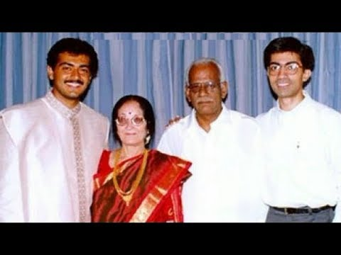 Ajith Kumar Family Photos - Parents, Father, Mother, Sister, Spouse, Son & Daughter.