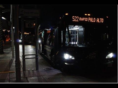 Vta 522 To Palo Alto Transit Center Youtube