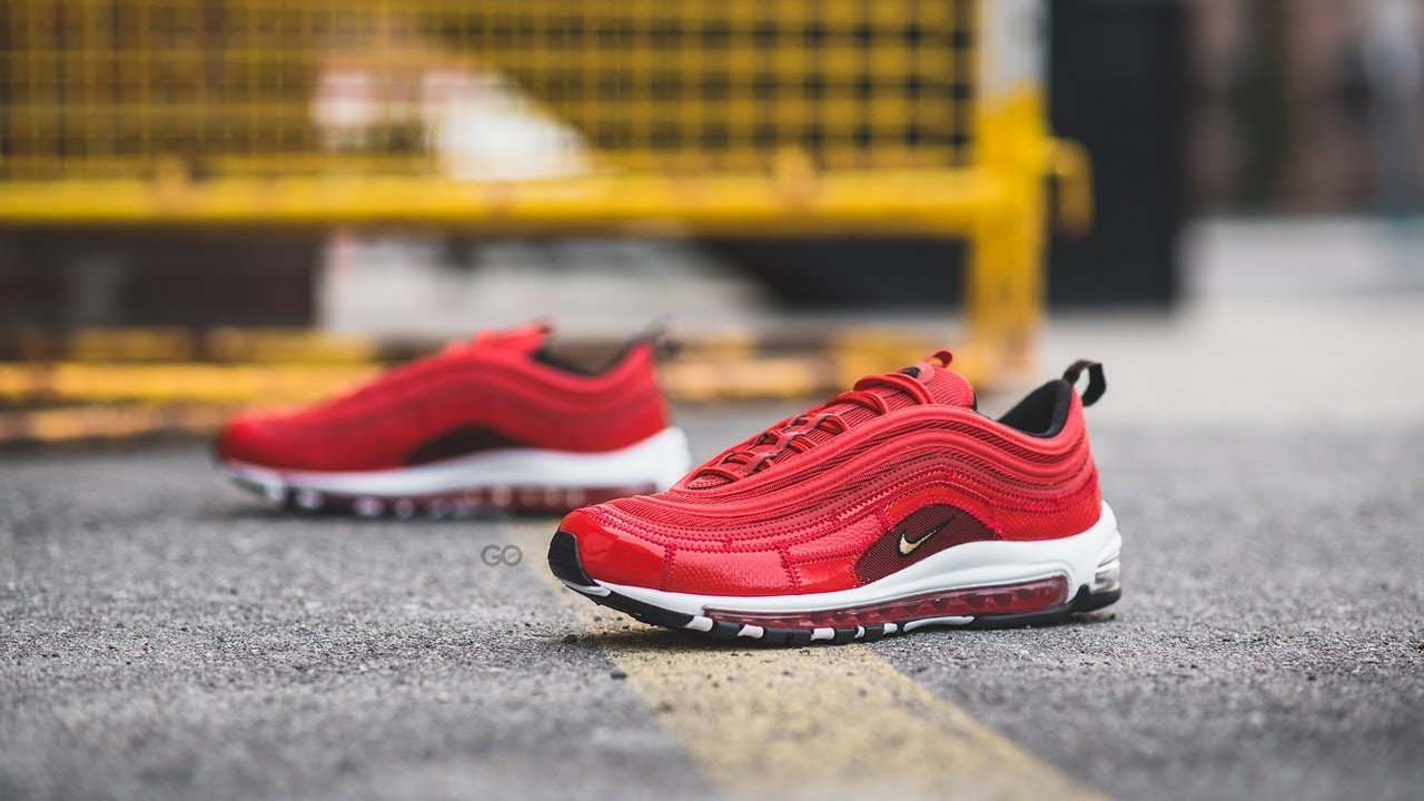 buy online ef03d 415f5 Review   On-Feet  Nike Air Max 97 x Cristiano Ronaldo CR7