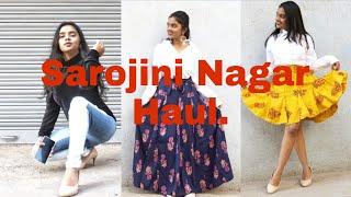 Sarojini Nagar Try On Haul | First Experience at Sarojini Nagar | thebrowndaughter