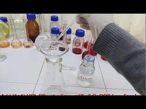 02 Total Hardness As CaCO3 (Preparation Of Standard Calcium Carbonate Solution)