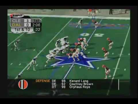 ESPN NFL 2K5:Gameplay  YouTube