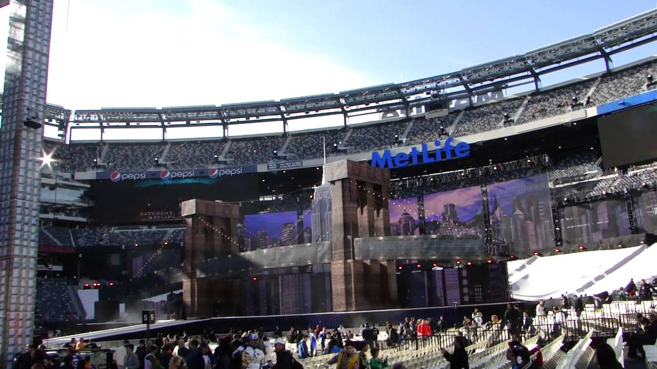 Metlife Stadium Floor Plan: Wrestlemania 29 Vlogs