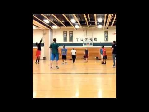 Scott E. Rich pickup game footage at Columbia Greene Community College 2014-#2-